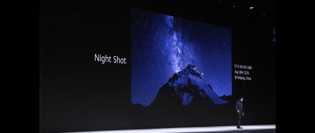 Zdjęcia nocne Huawei Mate 30