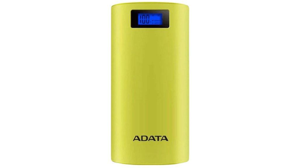 ADATA Power Bank P20000D 20000mAh 2.1A (żółty)