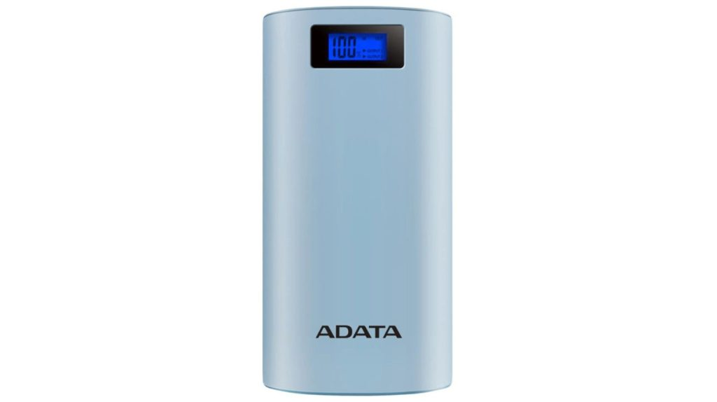 ADATA Power Bank P20000D 20000mAh 2.1A (niebieski)