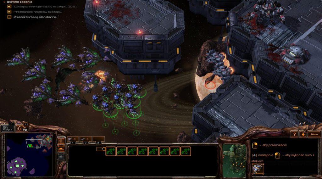 StarCraft 2 jak grac Zergiem