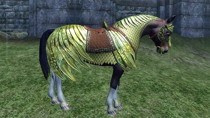 TES oblivion niesławna zbroja konia