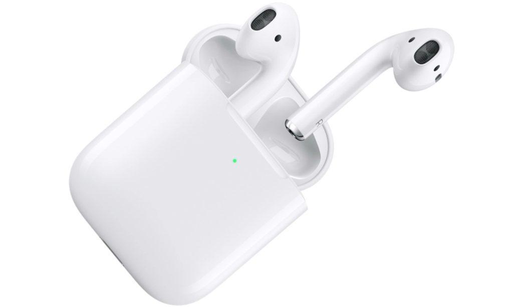 Apple NEW AirPods 2019 z bezprzewodowym etui ładującym
