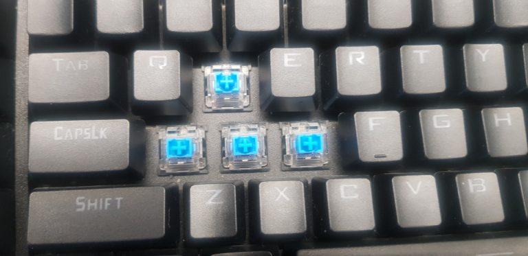 switche redragon brahma blue