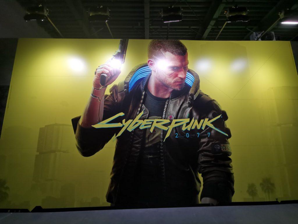 Stoisko Cyberpunk 2077
