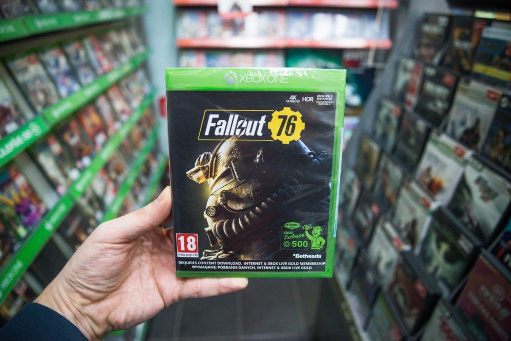 Fallout 76 okładka