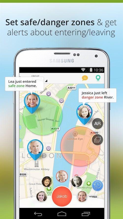 aplikacja family locator