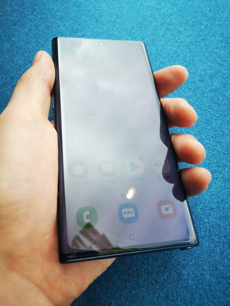 Galaxy Note 10 zdjęcie wyświetlacz sAMOLED