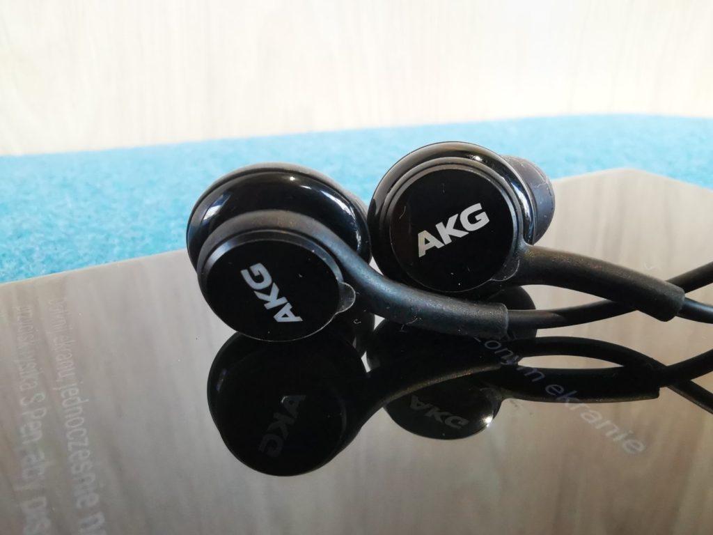 Galaxy Note 10 słuchawki AKG