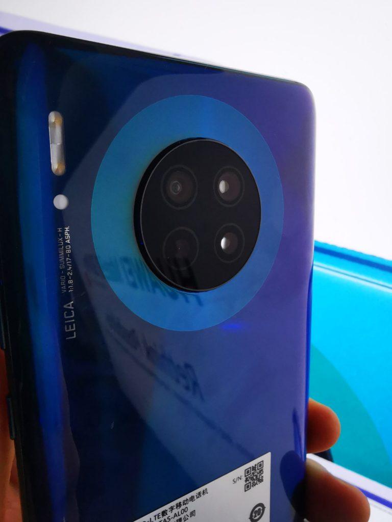 Huawei Developer Day Mate 30 aparaty