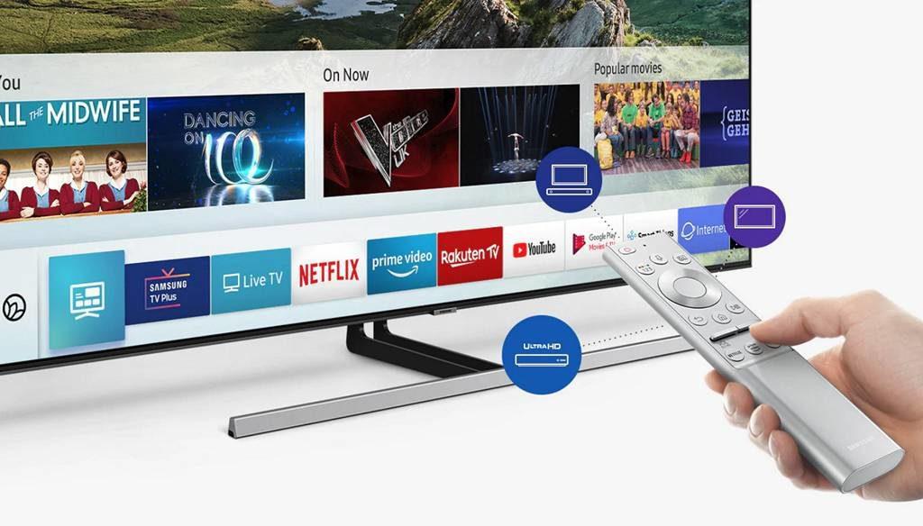 inteligentny telewizor z dostępem do aplikacji