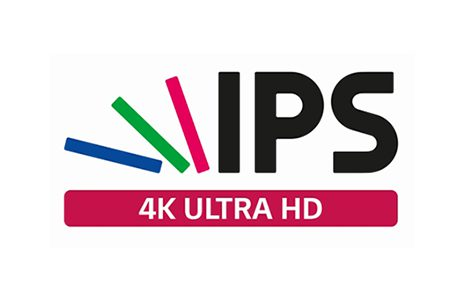 napis IPS 4K ultra HD