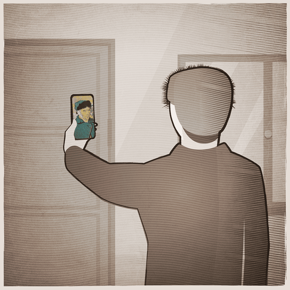 Luneta Futura smartfon selfie