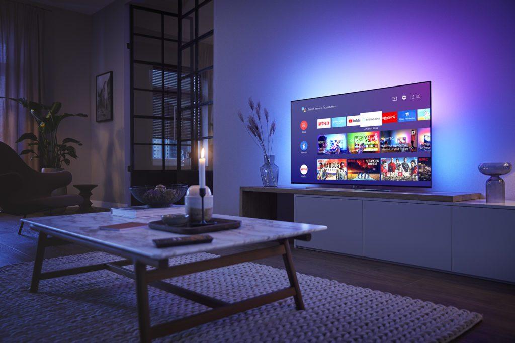 stylowy telewizor 55oled854