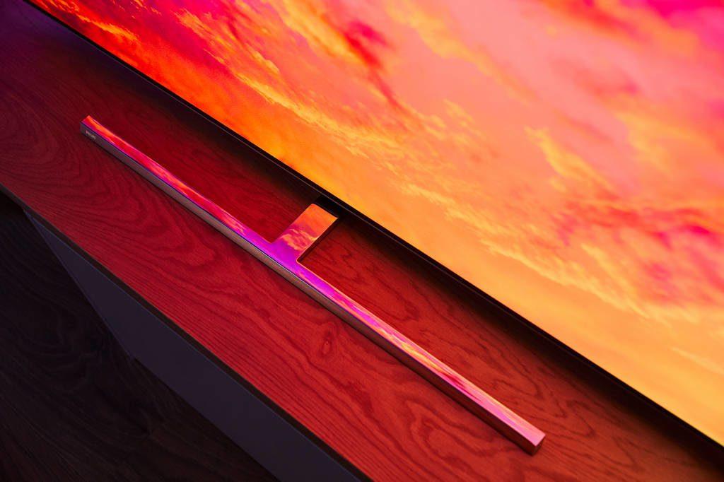 wygląd podstawki telewizora Philips 55OLED854