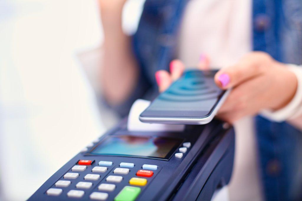 płatność nfc za zakupy