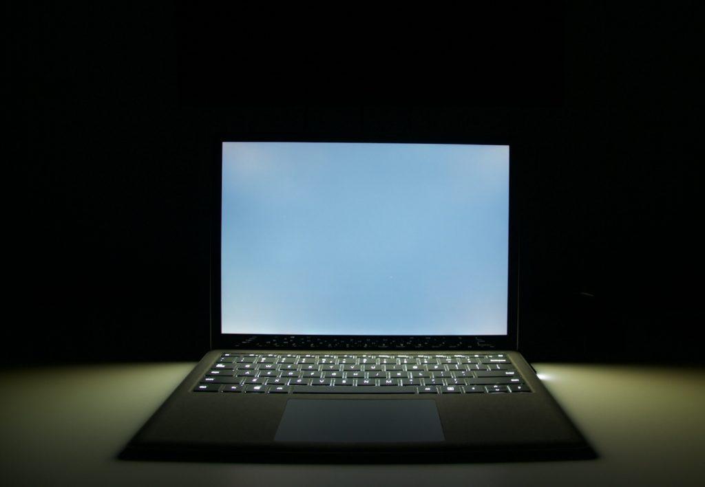 podświetlenie ekranu