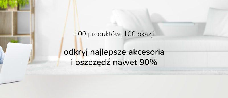 x-kom rusza z promocją 100×100. Rabaty do 90%, zniżki do 400 zł, 100 produktów i 100% satysfakcji