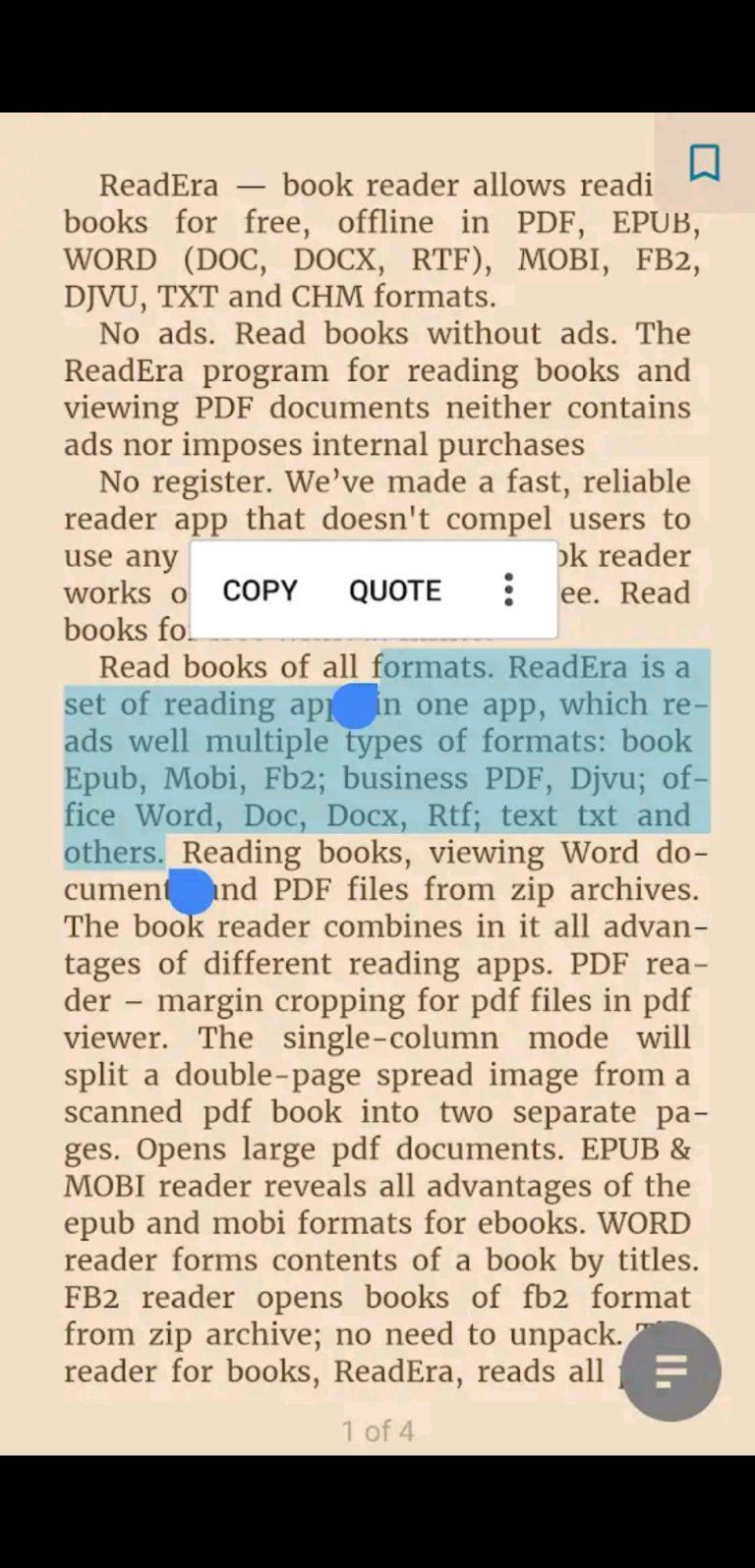 readera aplikacja