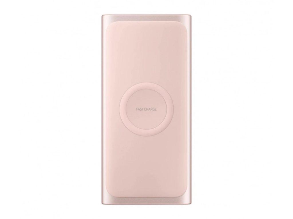 Samsung Powerbank indukcyjny 10000mAh 2A Fast Charge jasnoróżowy