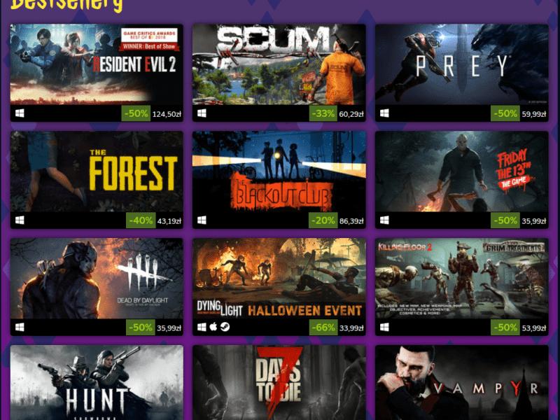 Steamowa wyprzedaż z okazji Halloween już jest – czy warto było czekać?