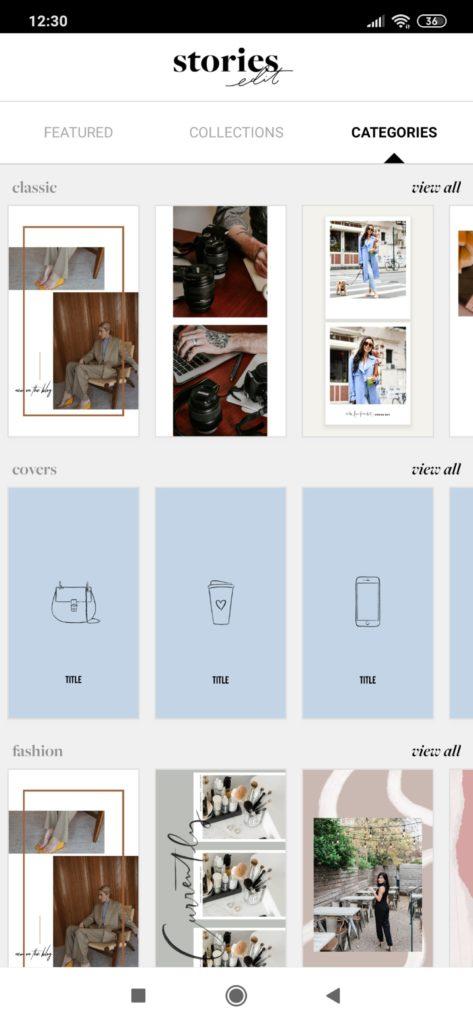 stories edit - aplikacja do instastory