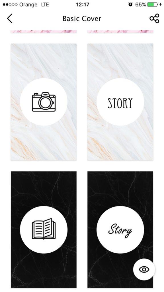 story art - aplikacja do instastory