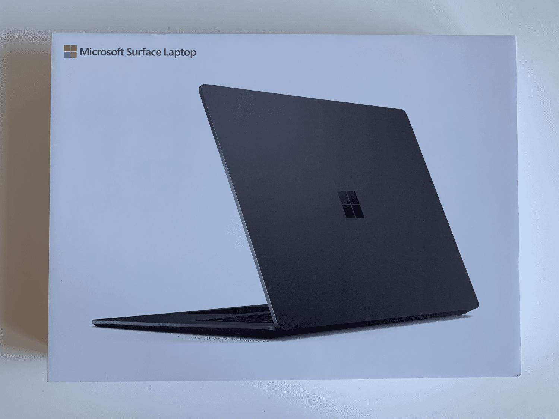opakowanie surface laptop 3