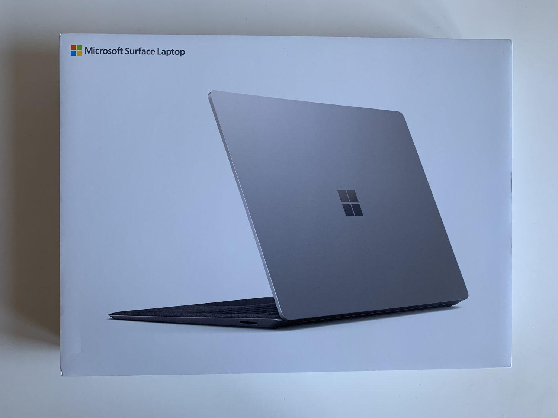 opakowanie surface laptop