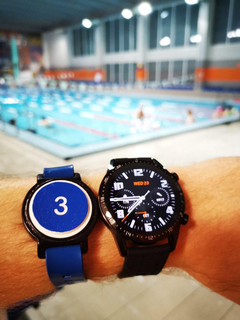 Watch GT 2 do pływania w basenie