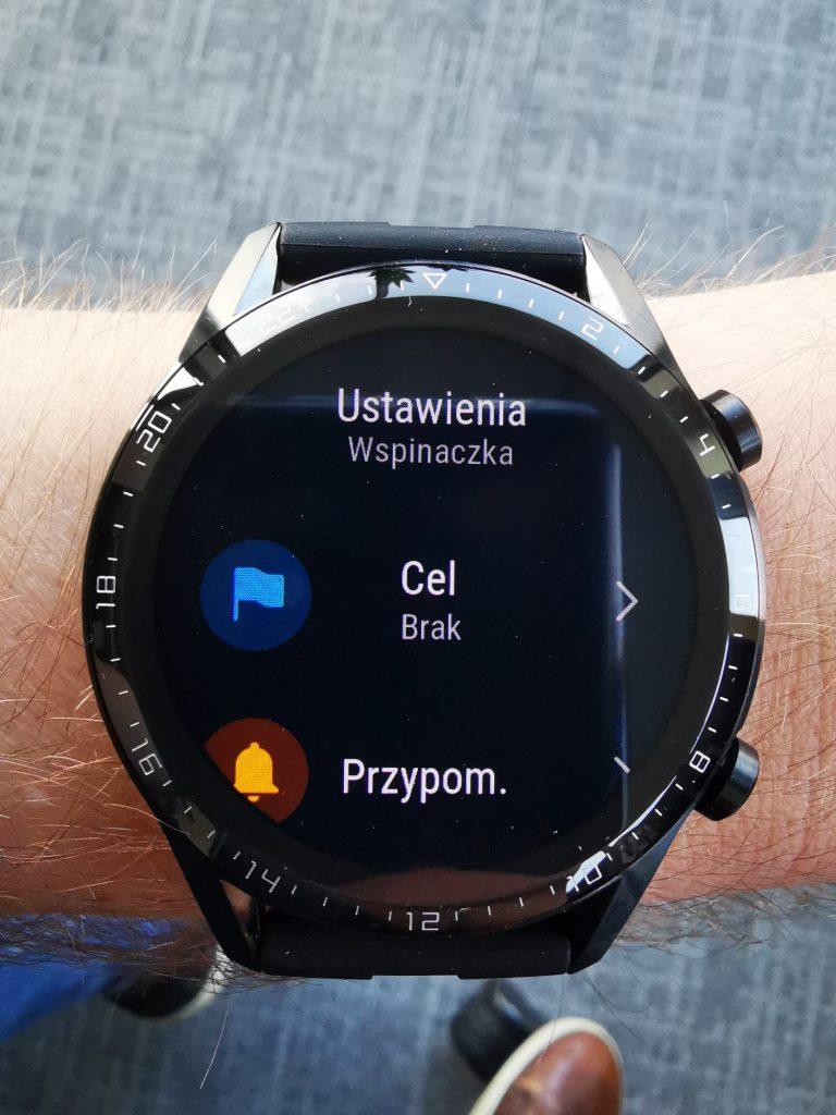 Watch GT 2 personalizacja celów