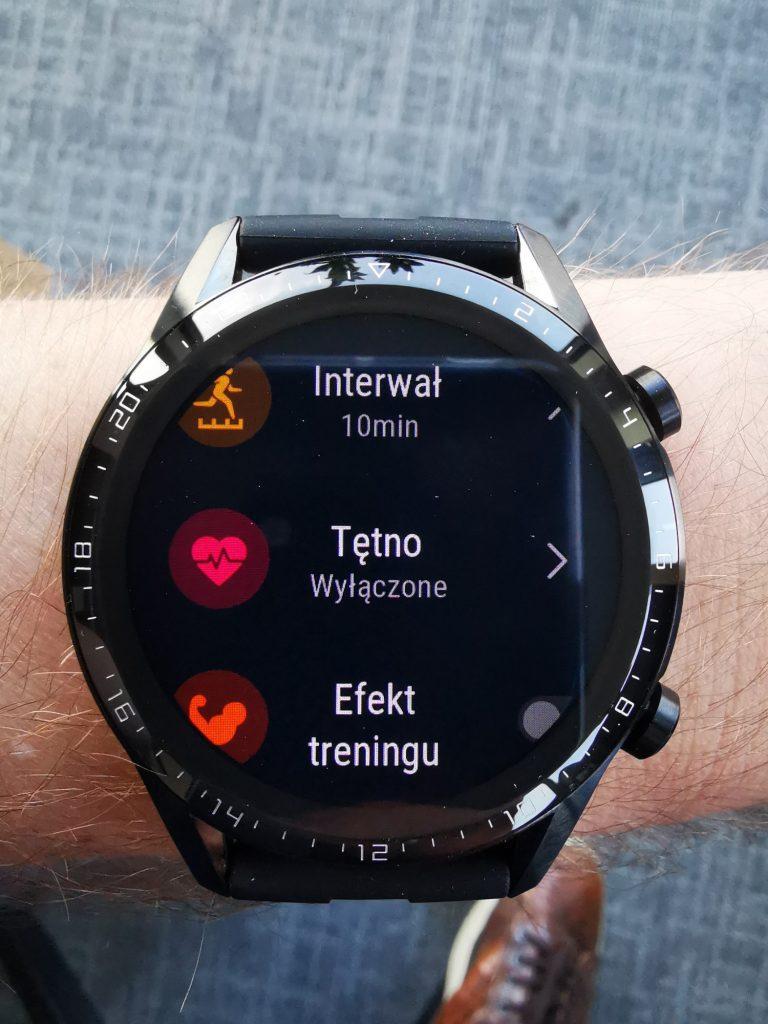 Watch GT 2 funkcje, pomiar tętna