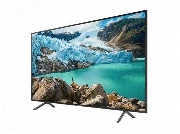 wygląd telewizora samsung 50ru7172