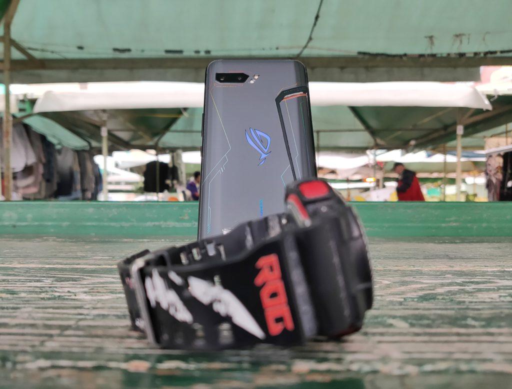 ASUS ROG Phone 2 zegarek gshock