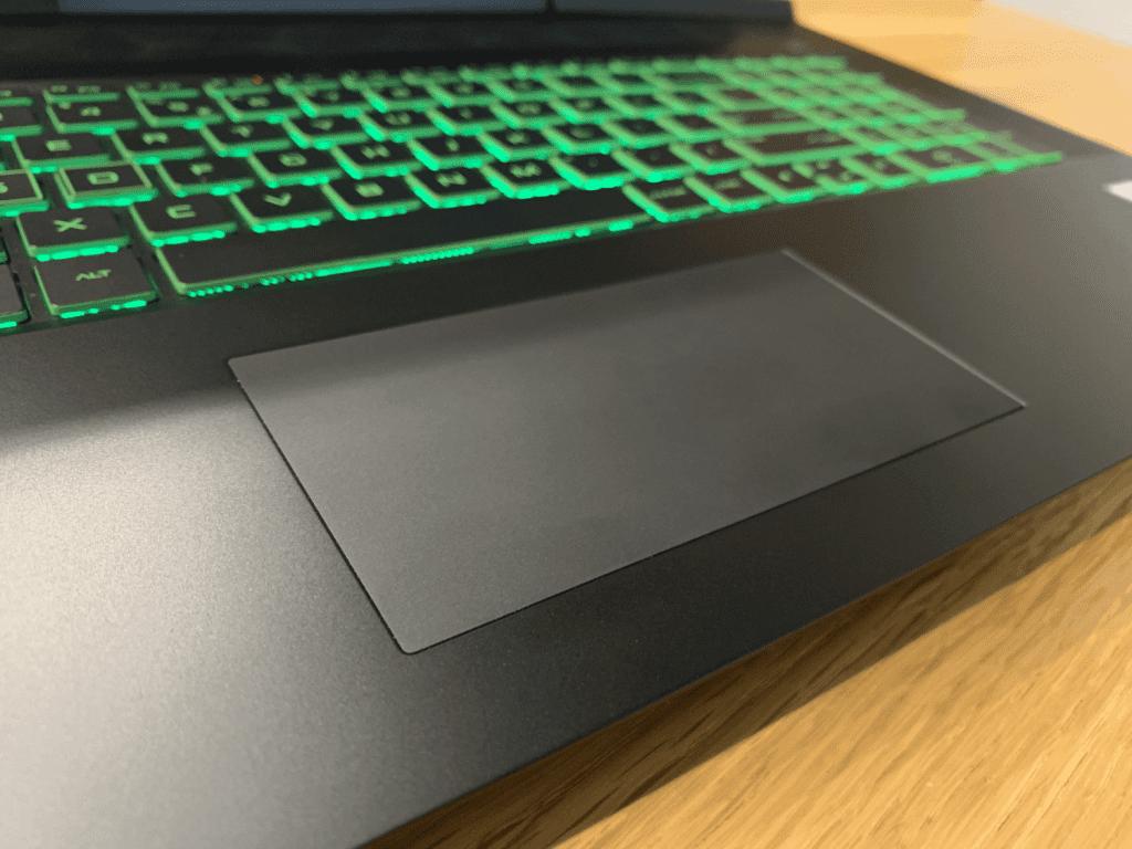 HP pavilion gaming płytka dotykowa