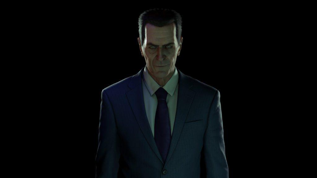 Half-Life Alyx nowy g-man