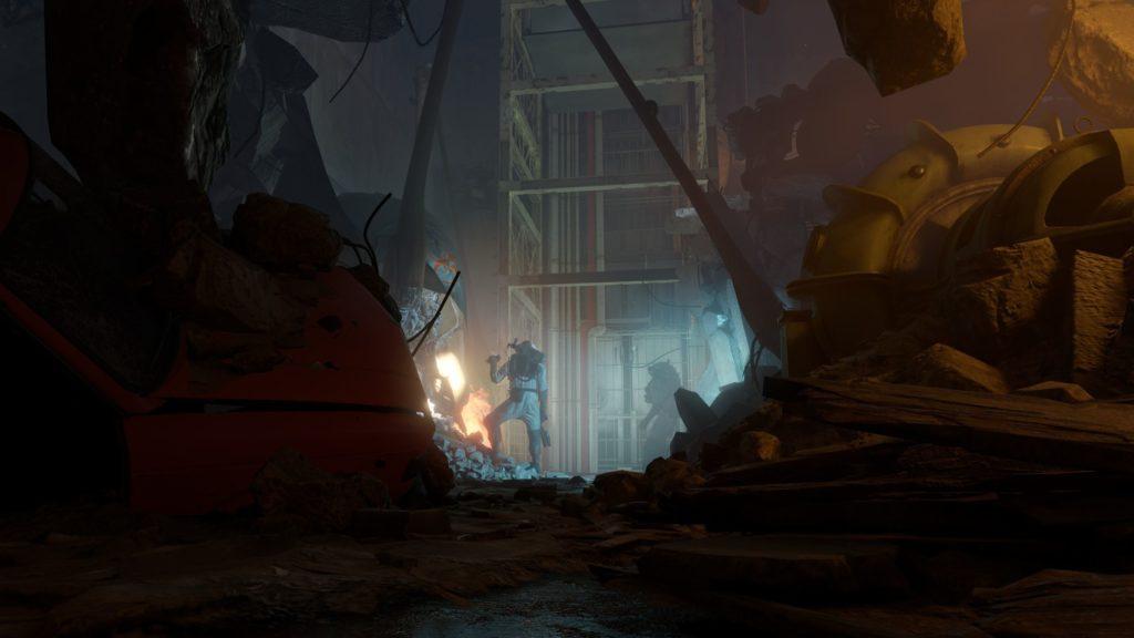 Half-Life Alyx gruzowisko w mieście