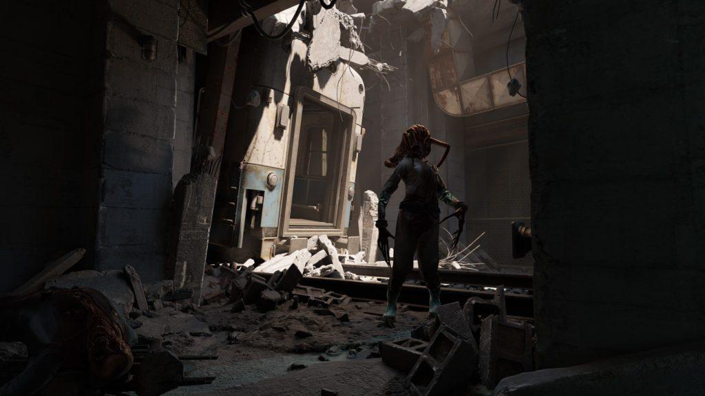 Half-Life Alyx zombie z headcrabem