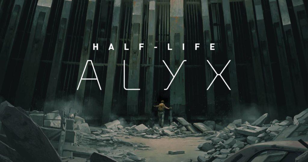 Half-Life Alyx logo gry VR