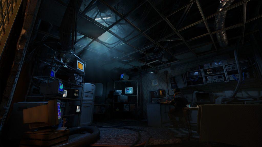Half-Life Alyx pokój z komputerami