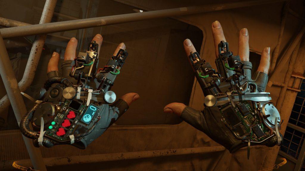 Half-Life Alyx rękawice z urządzeniem