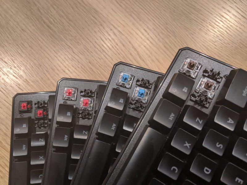 Klikanie w kolorach tęczy – porównanie czterech typów przełączników klawiatury SPC Gear GK530