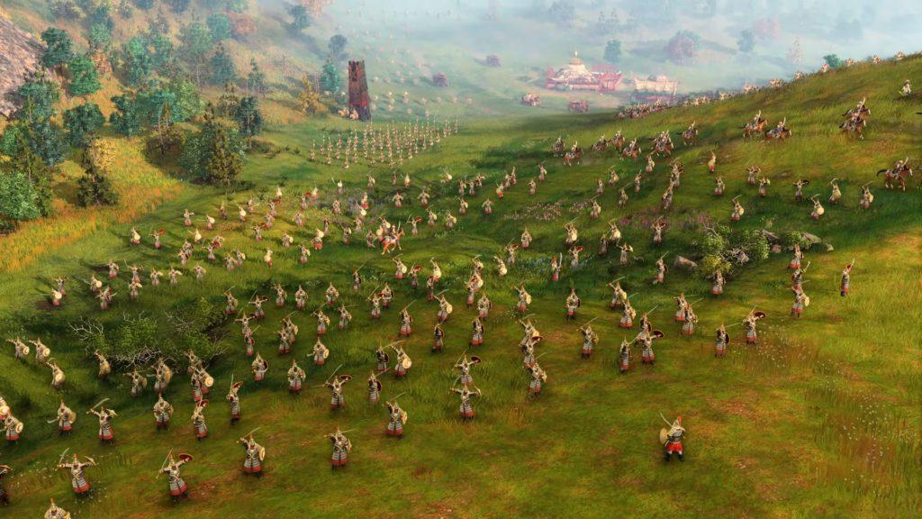Age of Empires IV wojska chińskie