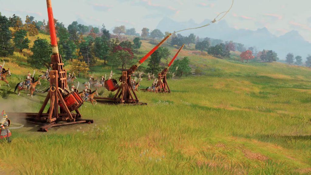 Age of Empires IV machiny oblężnicze