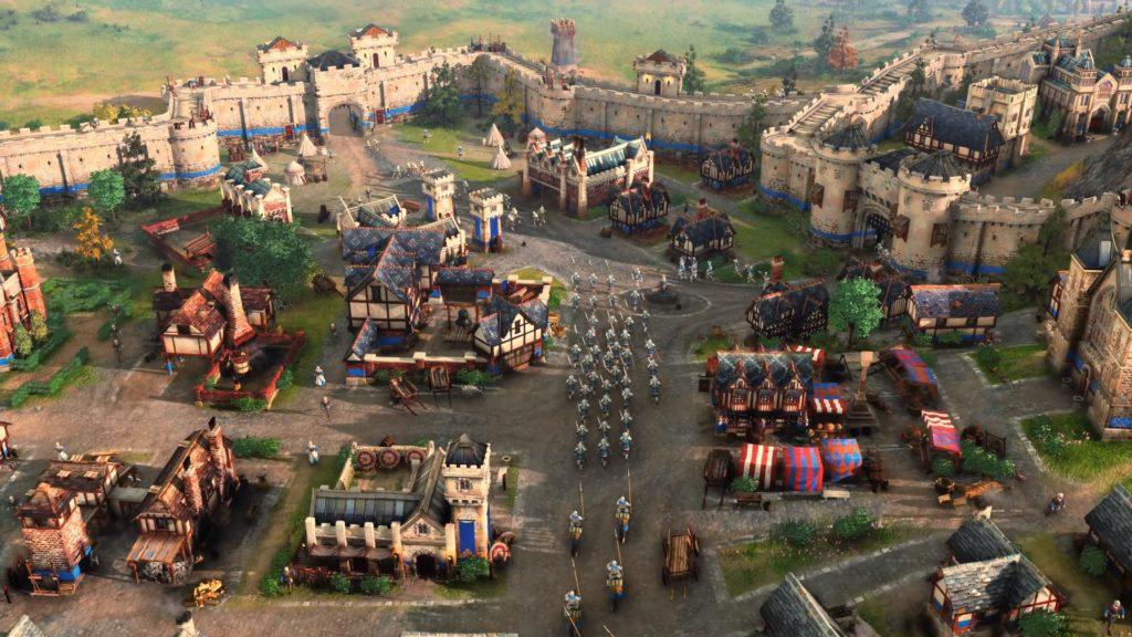 Age of Empires IV miasto brytyjskie