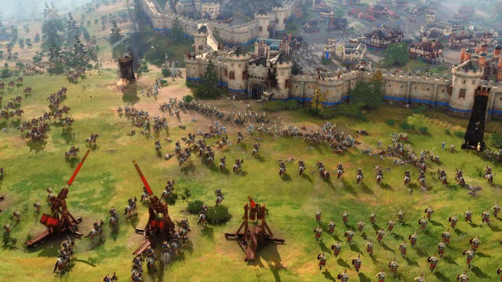 Age of Empires IV miasto oblężone