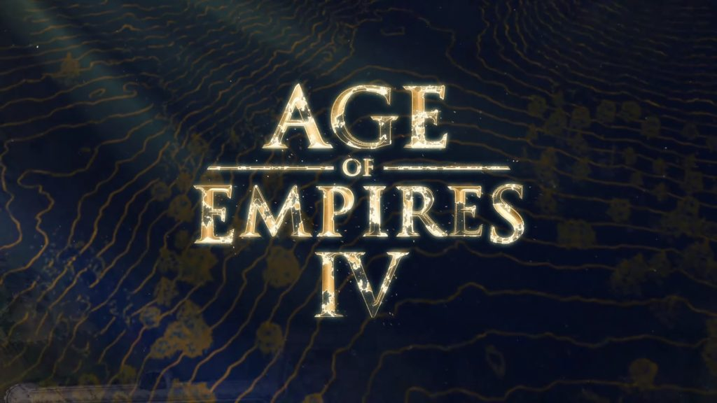 Age of Empires IV logo gry