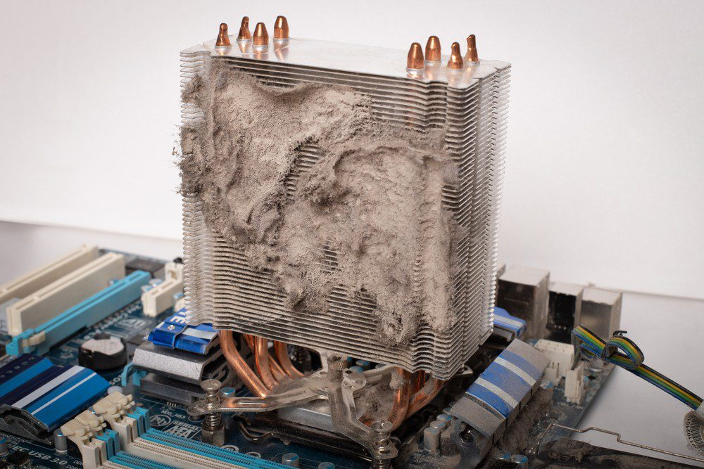 Zakurzony radiator