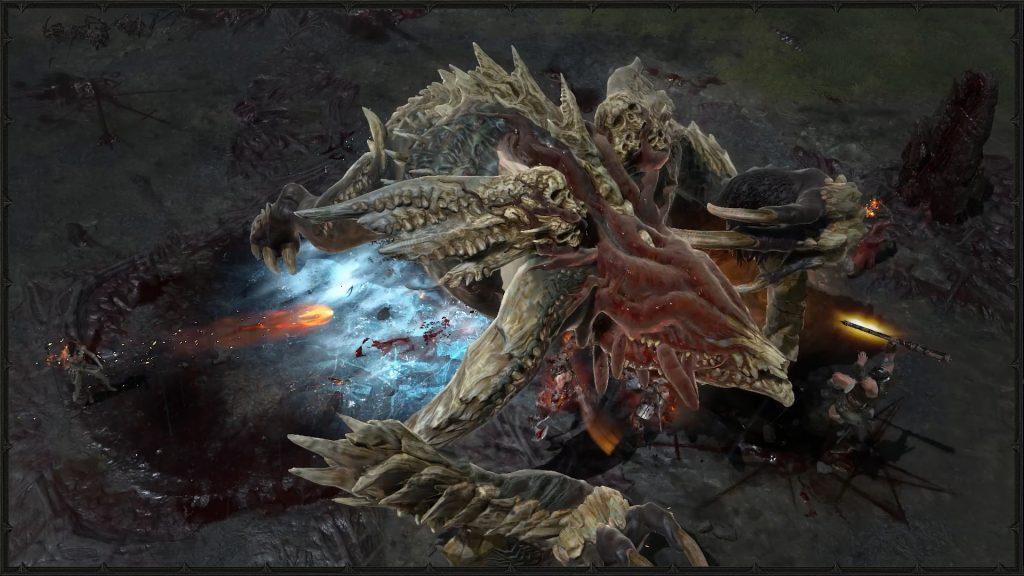 Diablo IV Gameplay barbarzyńca