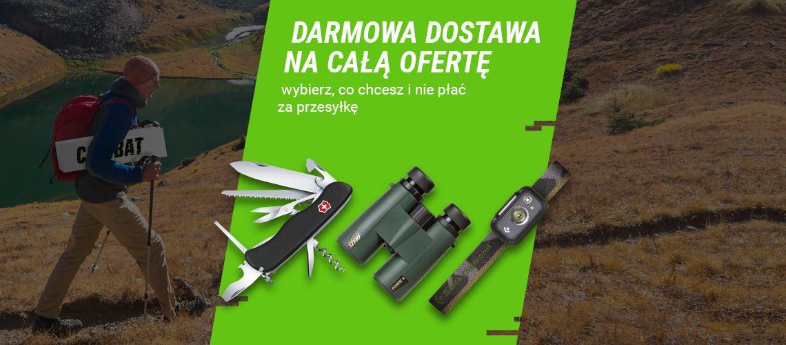 tydzień darmowej dostawy w sklepie combat.pl
