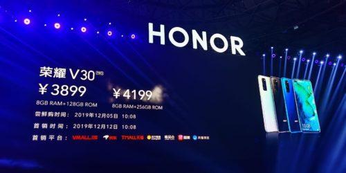 Honor View 30 i Honor View 30 Pro już w grudniu. Co znajdziemy w tych smartfonach?